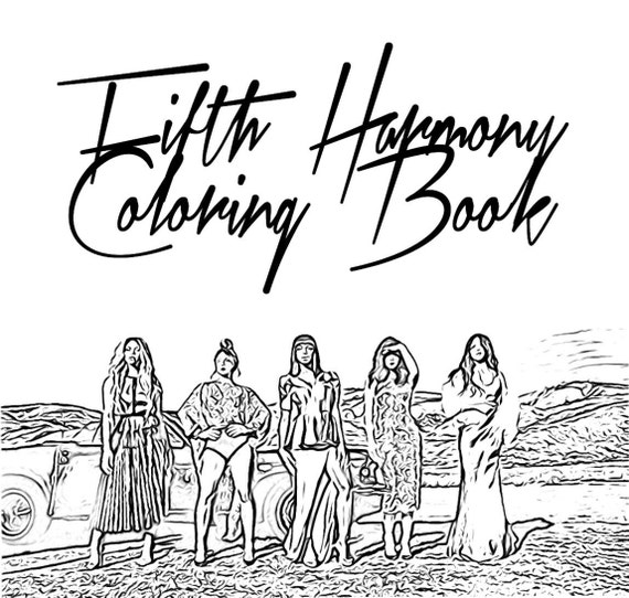 camila fifth harmony coloring pages - photo#1