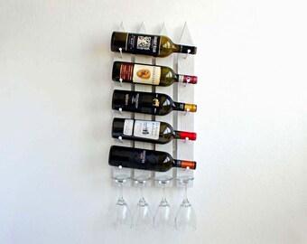 wall mounted wine rack wood wine rack hanging wine rack unique wine rack