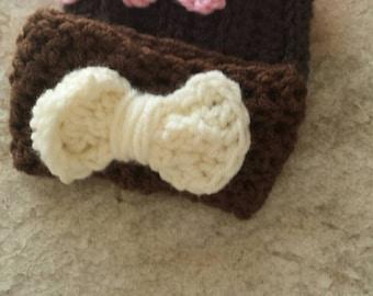 Crocheted Coffee Cozy bundle