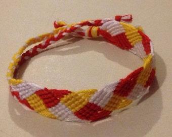 Braided Leaf Friendship Bracelet
