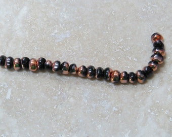 Jet Sunset 5 x 7 mm TICO Beads (23)