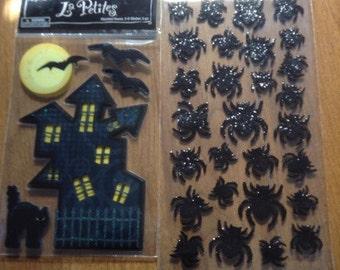 Halloween sticker lot