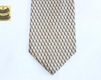 Vintage Umberto Bossi Silk Tie. Mens ties, silk ties, gold ties, Italien ties,