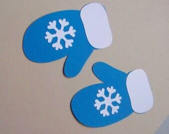 Snowflake mitten die cuts