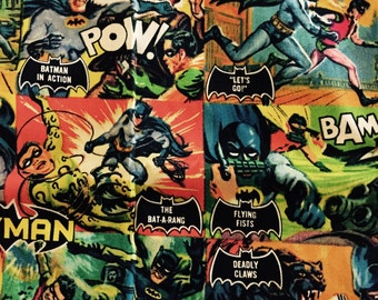 Batman & Robin Library Bag, Swim Bag, etc