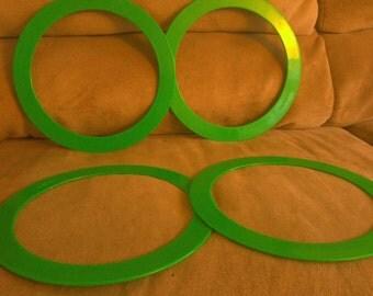 Green 8 rings