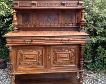 French Vintage Henri Style Buffet Dresser