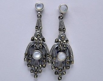 Earrings marcasite