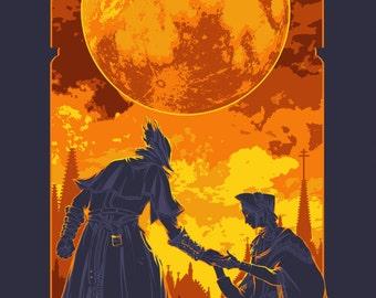11 x 17 Bloodborne Poster