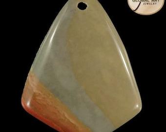 BI03827# 100% Natural Genuine Gemstone Succor Creek Jasper Pendant Bead