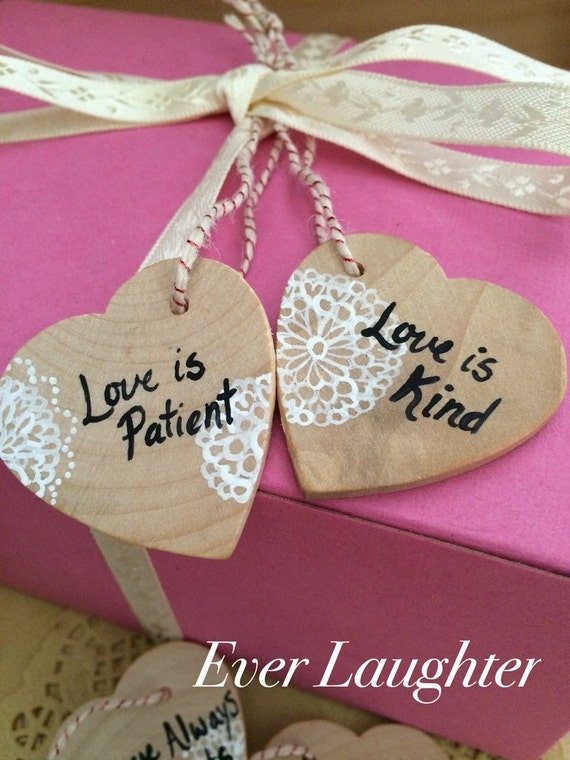 Painted Gift TagsWedding Favor TagsRustic Wedding FavorsWine ...