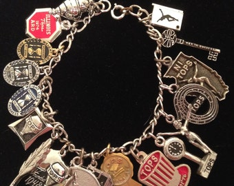 Tops Weight Loss Charm Bracelet
