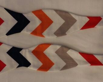 Custom multicolored bowtie