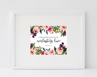 Everlasting Love Print
