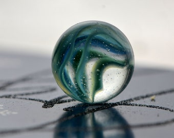 aqua swirl marble