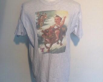 The Stone Temple Pilots original 1994 Purple LP promo vintage T-Shirt.