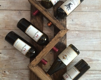 crmorand 8 bottle wine rack
