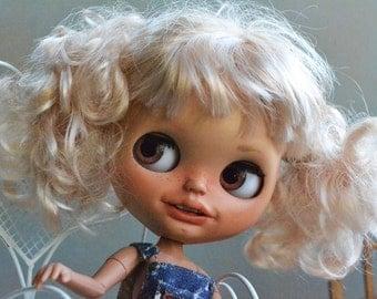Reserved to Sonya lOOAK Customized  Blythe doll by Carlaxy New CARLAXY -