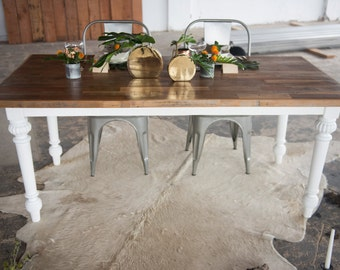 Reclaimed French Farm Dining Table