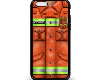 iPhone/Samsung Case Fireman