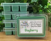 BAYBERRY SOY Wax Melts - Winter Scented - Holiday - Christmas candle melts - Pine - Balsam - Soy Wax Tarts - 1 Package