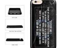 Famous Movie Quoe My Rifle - iPhone 4 4s 5 5s 5c 6 6s 6 Plus 6s Plus iPod Touch
