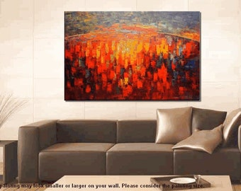 Extra Large Painting, Canvas Art, Oil Painting, Large Art, Abstract Art, Large Painting, Living Room Wall Decor, Wall Art, Abstract Painting