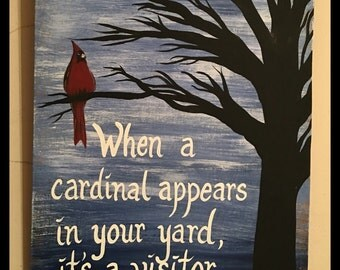 Cardinal Heavenly Visitor