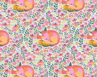 Tula Pink - Chipper Fox Nap Sorbet (Half metre)