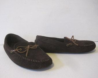 VINTAGE Boat Moccasins Loafers Shoes Size: XL (11-12) Men's Textile Upper Lining Sole