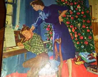 January 9 1960  SATURDAY EVENING POST magazine Christmas tree vintage holiday  - C 3804