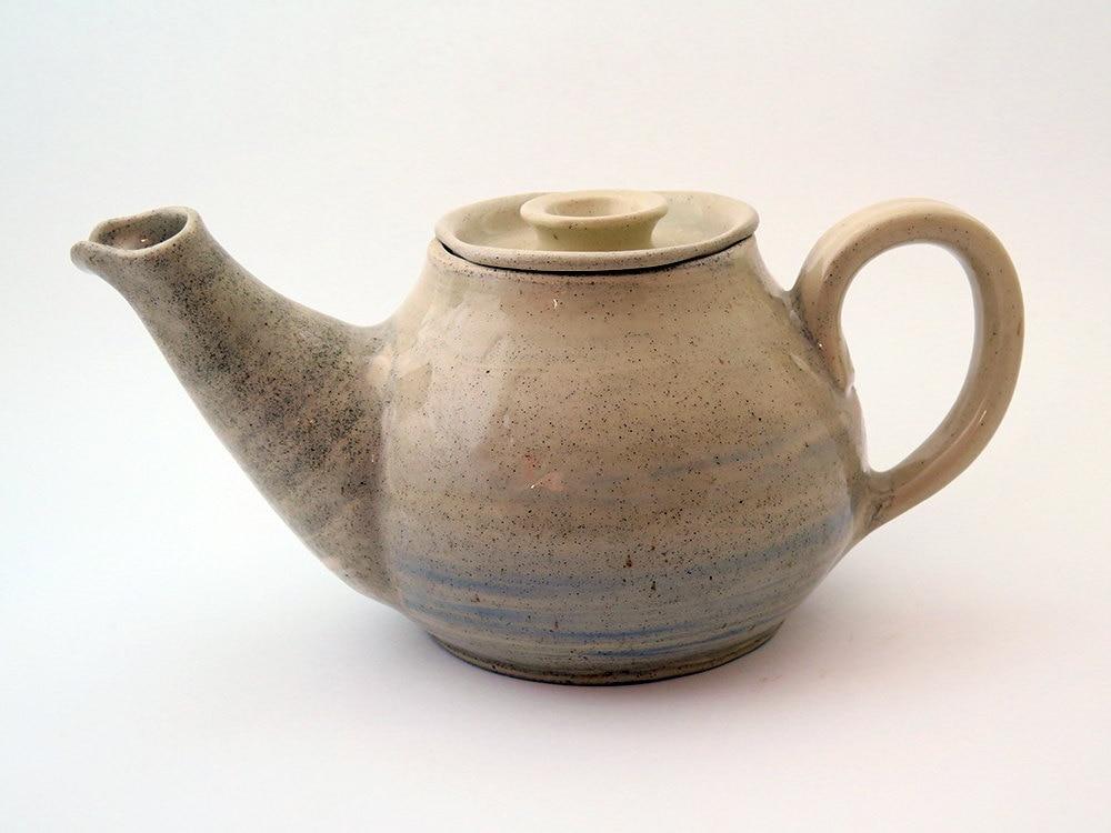 Stoneware Large Pottery Tea Pot Handmade Ceramic Tea Pot With