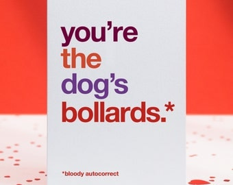 Funny thank you card   Etsy