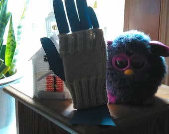 Round About Fingerless Mitts