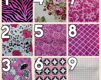 Fabric Choices PINK