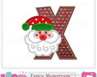 Vector Alphabet Letter X Christmas Hat Stock Vector 513881185 ...