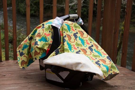 sale dinosaur car seat cover for infants car seat canopy. Black Bedroom Furniture Sets. Home Design Ideas