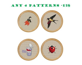 Any 4 patterns - 15 dollars