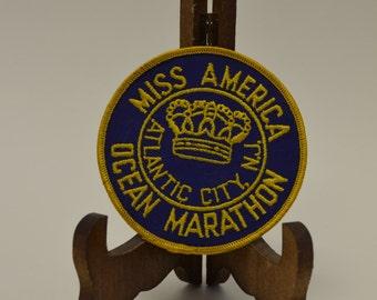 Miss America Ocean Marathon Patch