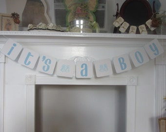 Baby Shower Banner It's a Boy Banner