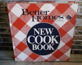 Better Homes and Gardens New Cook Book, BHG Cookbook, 1981