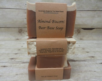 Almond Biscotti Beer Base Soap
