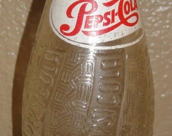 Vintage 1950's Pepsi Bottle/ Ny, New York