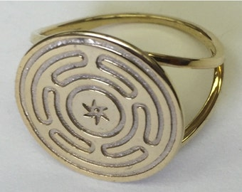 Wheel of Hecate ring