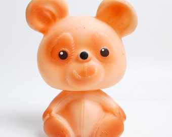 Vintage Rubber Toy, the Bear (C0089)