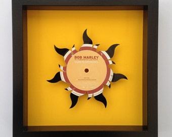 Bob Marley 'Sun Is Shining' Vinyl Record Art
