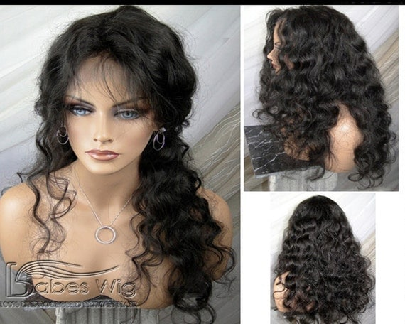 Curly wigs 100% real human hair lace front wigs curly hairstyle human ...