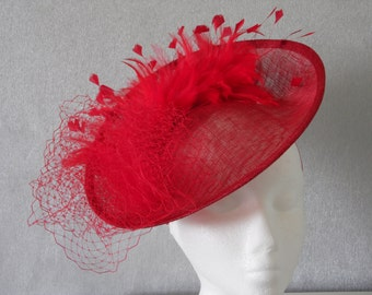 Gorgeous Poppy Red Hatinator