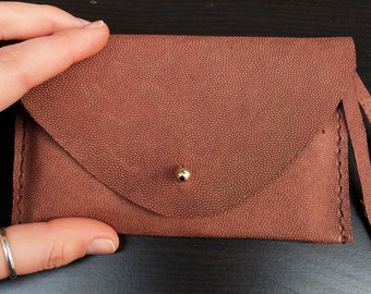 Extra Durable Boar Leather Purse