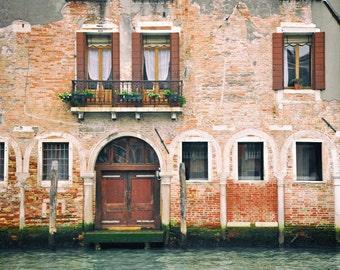 Venice Photography, Venice Italy, Doors and Windows, Architecture, Travel Decor, Fine Art Print, Europe Decor, Wall Art